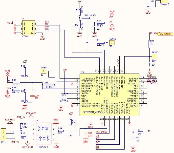 内建单输入模拟比较器cmp1,内建多输入模拟施密特比较器cmp2 ■ 内